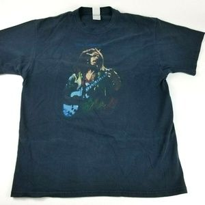 Bob Marley Men's XL Black Music Graphic T-Shirt